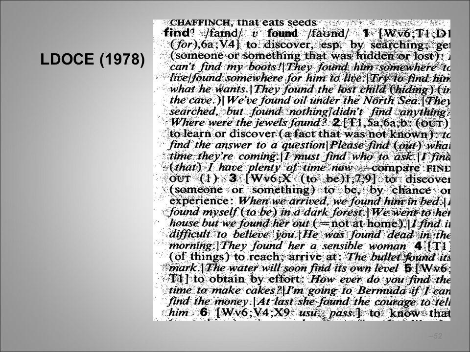 –52 LDOCE (1978)