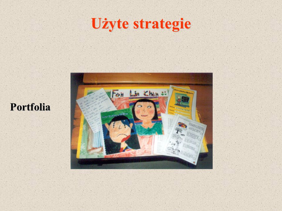 Użyte strategie Portfolia