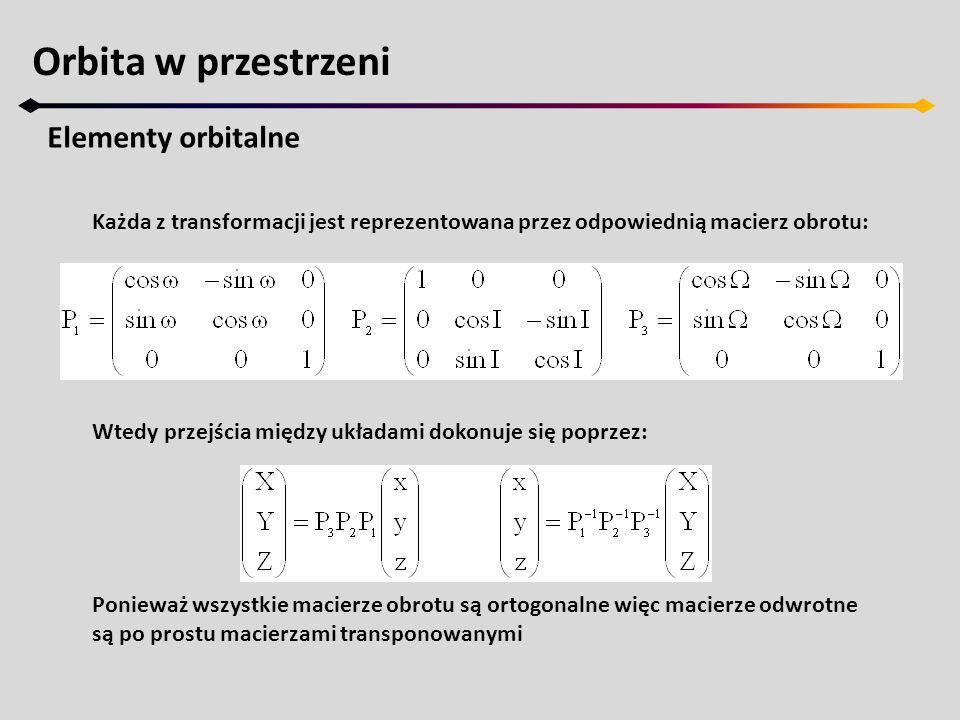 Zagadnienie dwóch ciał Rozwinięcia w szereg Kolejne rozwinięcie dotyczy różnicy anomalii ν-M zwanego równaniem środka.