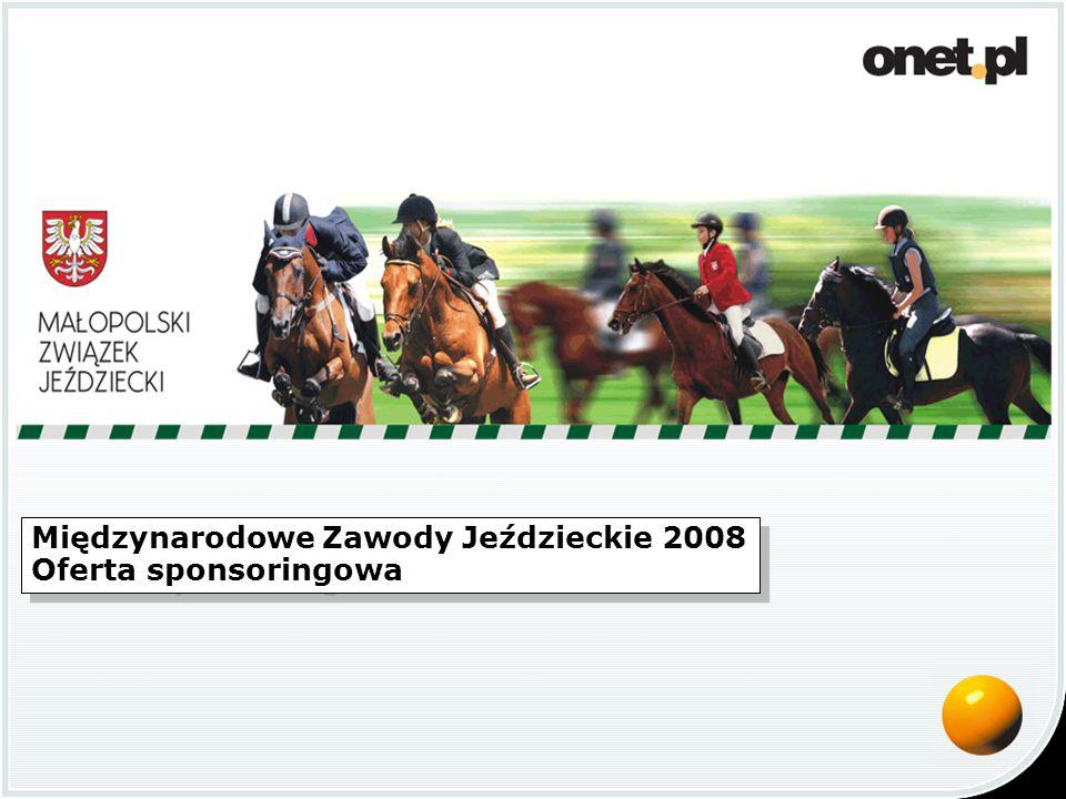 Międzynarodowe Zawody Jeździeckie 2008 Oferta sponsoringowa