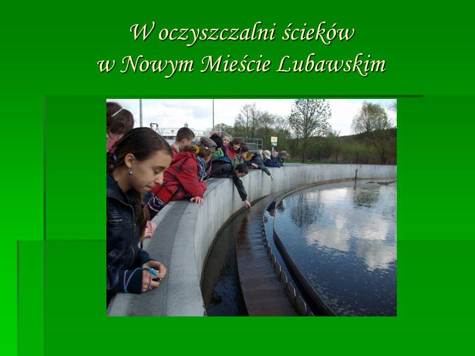 W oczyszczalni ścieków w Nowym Mieście Lubawskim