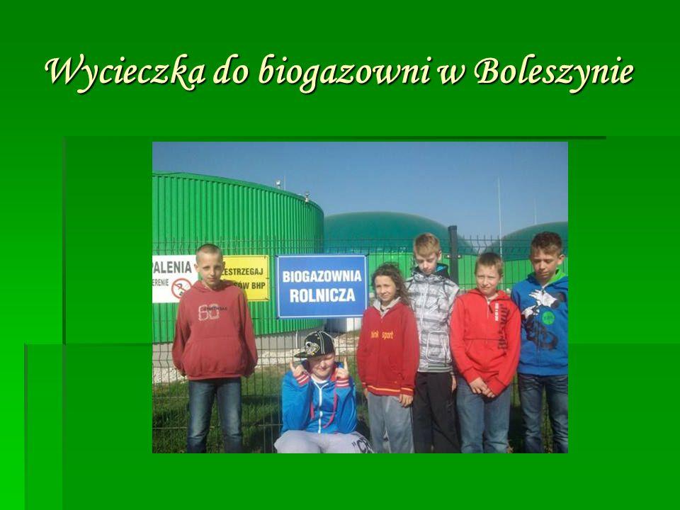 Wycieczka do biogazowni w Boleszynie