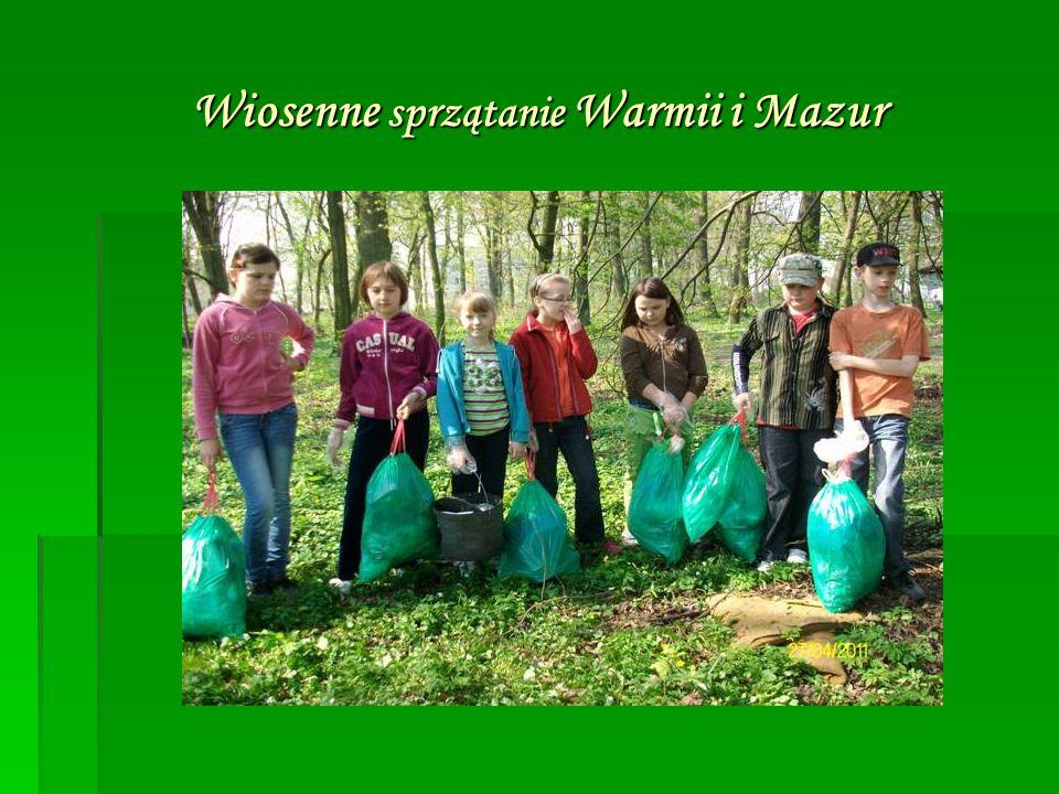 Wiosenne sprzątanie Warmii i Mazur