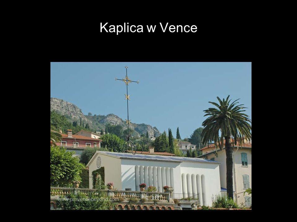 Kaplica w Vence