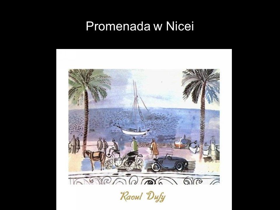 Promenada w Nicei