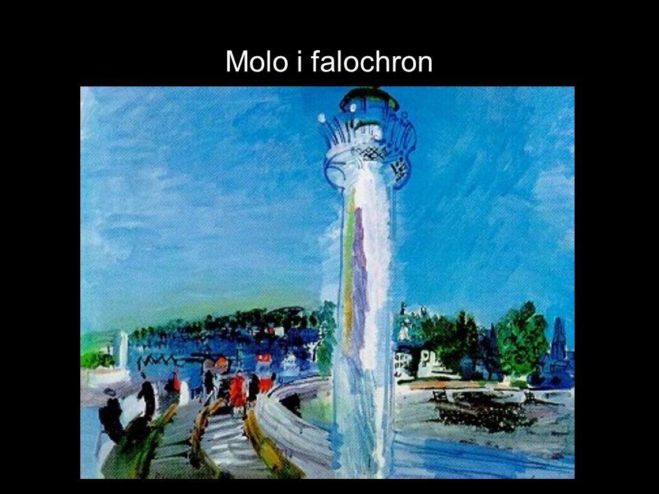 Molo i falochron