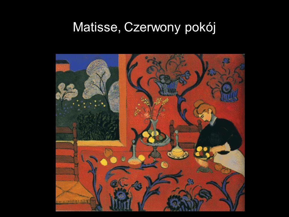 Matisse, Czerwony pokój