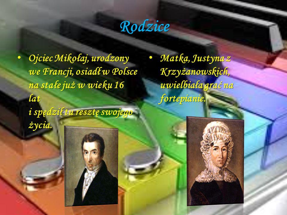 Rodzice Ojciec Mikołaj, urodzony we Francji, osiadł w Polsce na stałe już w wieku 16 lat i spędził tu resztę swojego życia. Ojciec Mikołaj, urodzony w