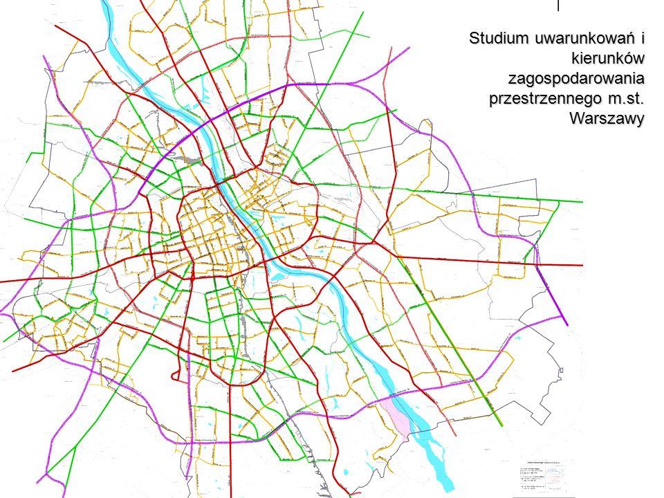 Studium uwarunkowań i kierunków zagospodarowania przestrzennego m.st. Warszawy