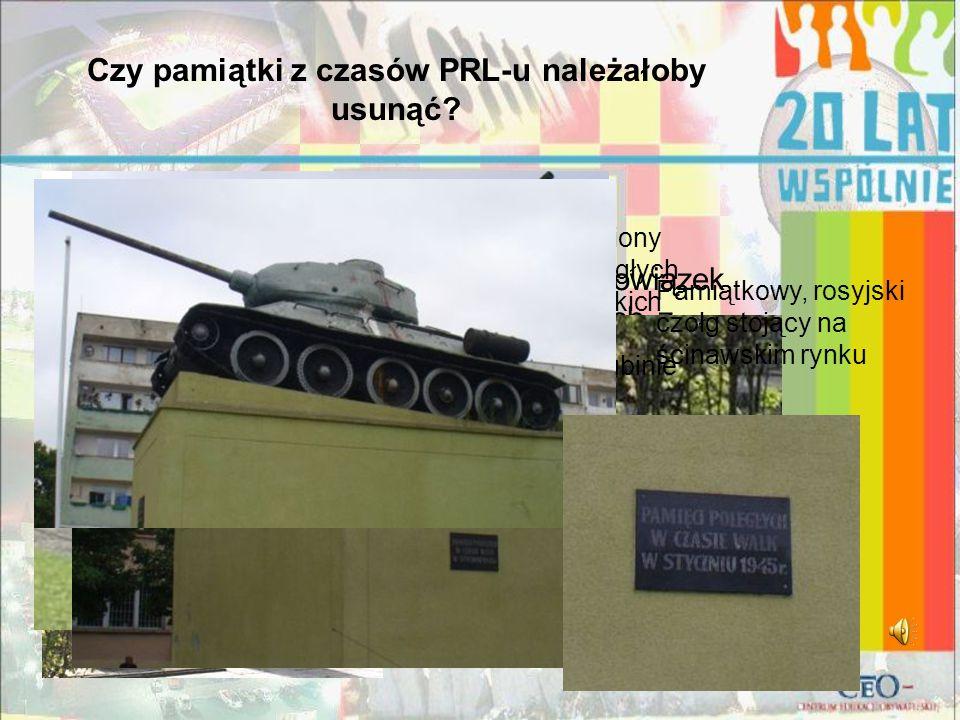 """""""PiS chciał nałożyć na samorządy obowiązek usuwania przedmiotów kojarzonych z komunizmem. Chciał, by zmieniane były nazwy ulic i placów, które noszą i"""