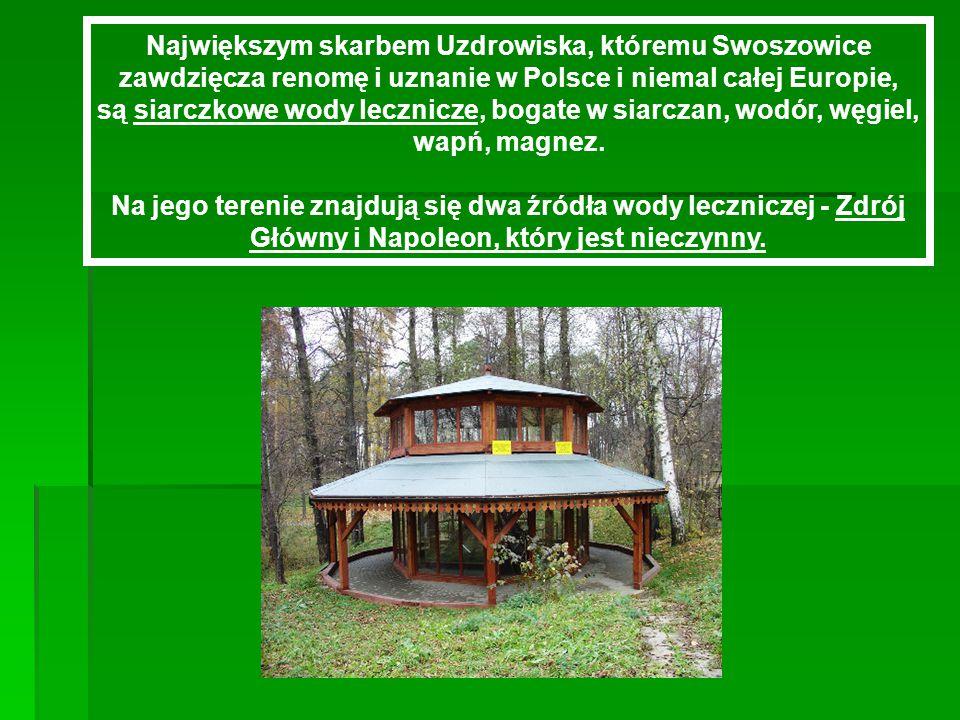 A TERAZ TROSZECZKĘ HISTORII. A TERAZ TROSZECZKĘ HISTORII.  Uzdrowisko Kraków-Swoszowice istnieje od roku 1811.  W 1807 r. Swoszowice kupił prof. Uni