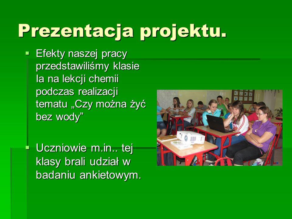 Prezentacja projektu.