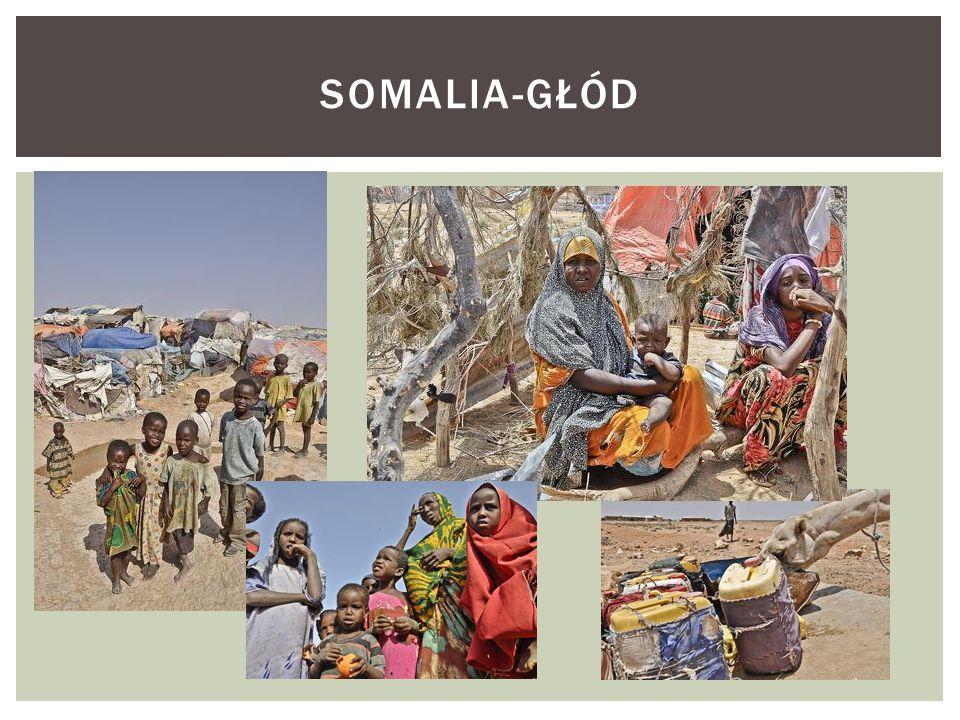 SOMALIA-GŁÓD