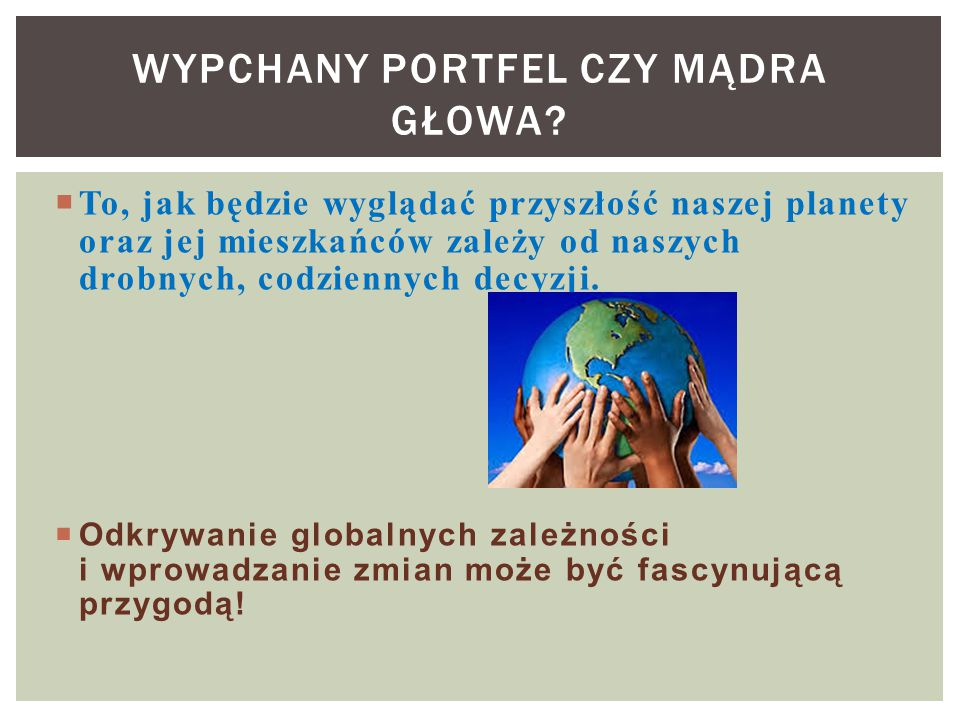 """ Świat bez głodu Kampania: """"Świat bez Głodu KAMPANIE POLSKIEJ AKCJI HUMANITARNEJ Kampania: Studnia dla Południa www.pah.org.pl"""