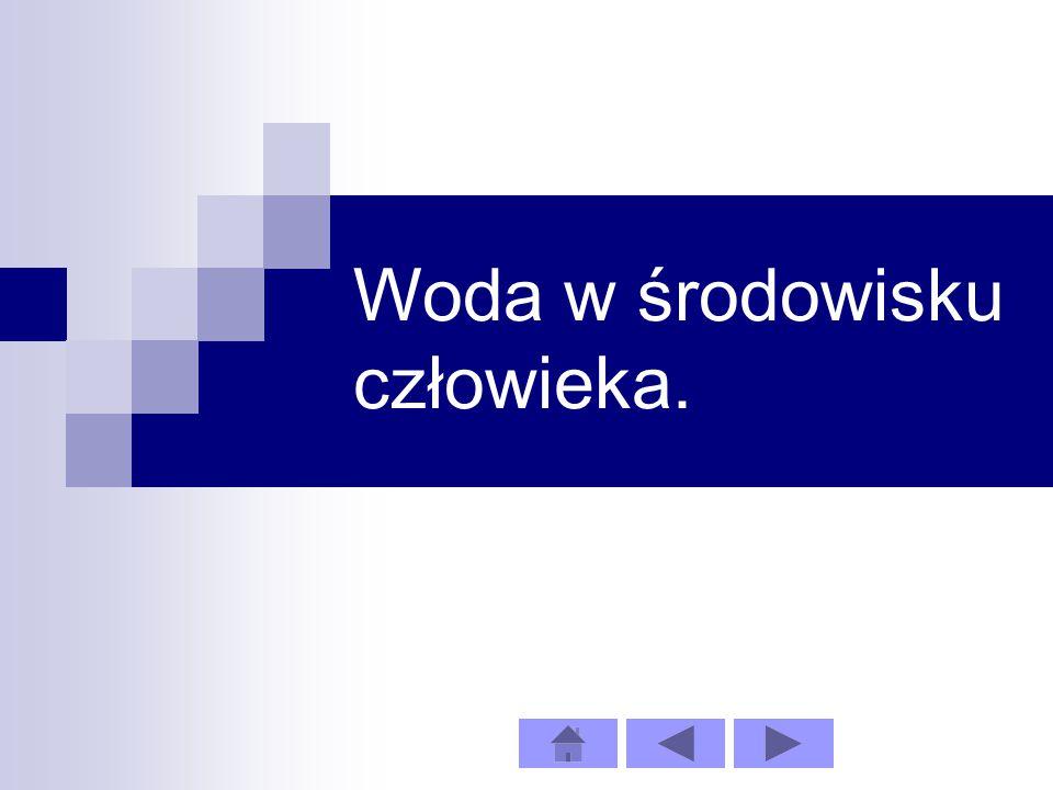 Średnie opady w Polsce.