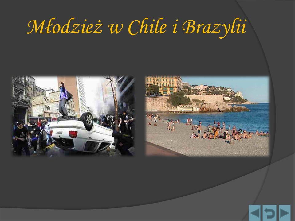 Młodzież w Chile i Brazylii