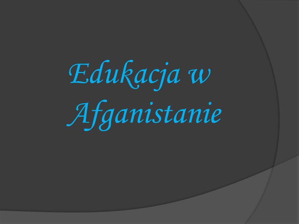 Edukacja w Afganistanie