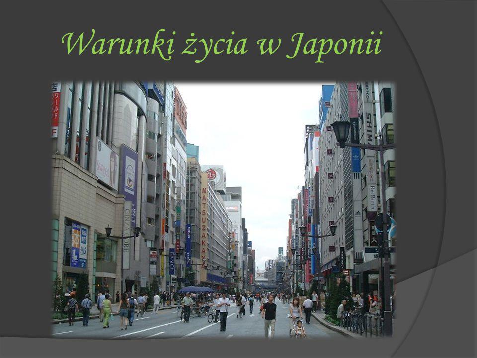 Warunki życia w Japonii