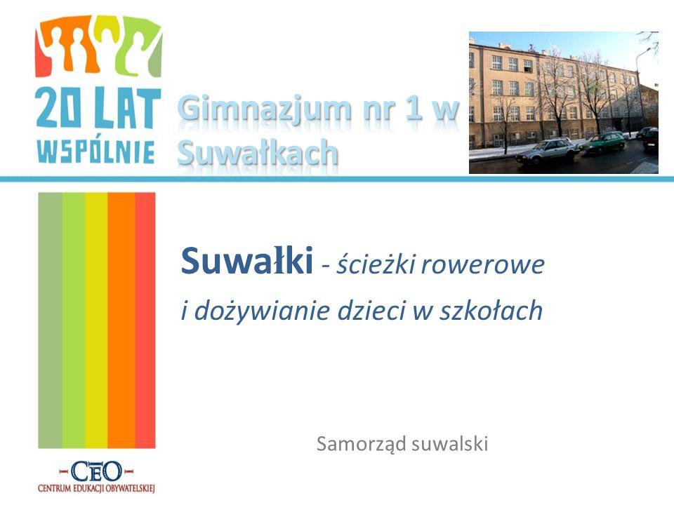 Suwa ł ki - ścieżki rowerowe i dożywianie dzieci w szkołach Samorząd suwalski