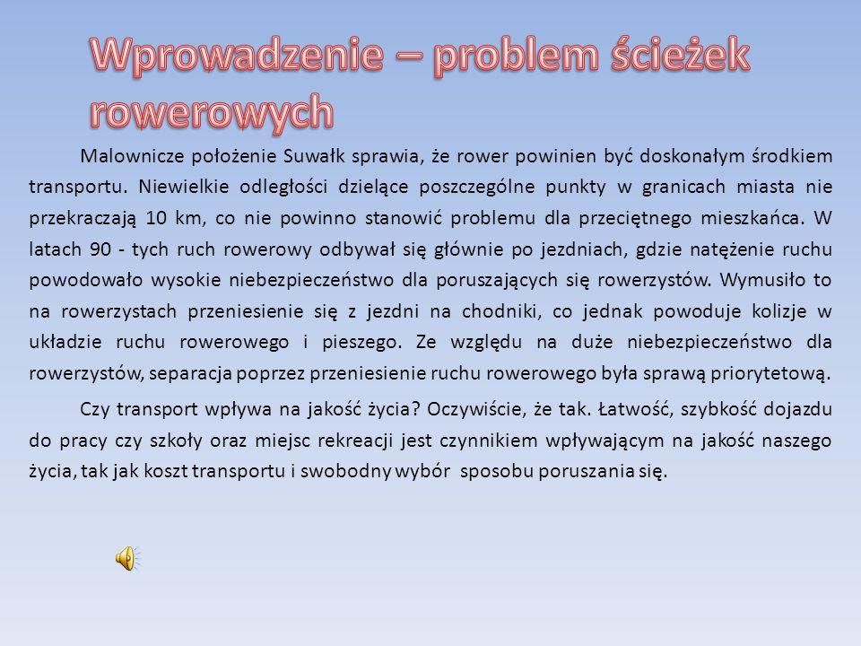 Wywiady Gmina Suwałki – P.Karolina Problem ścieżek jest ważny, gdyż turyści oczekują atrakcji.