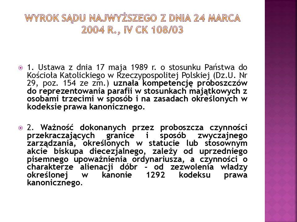  1. Ustawa z dnia 17 maja 1989 r.
