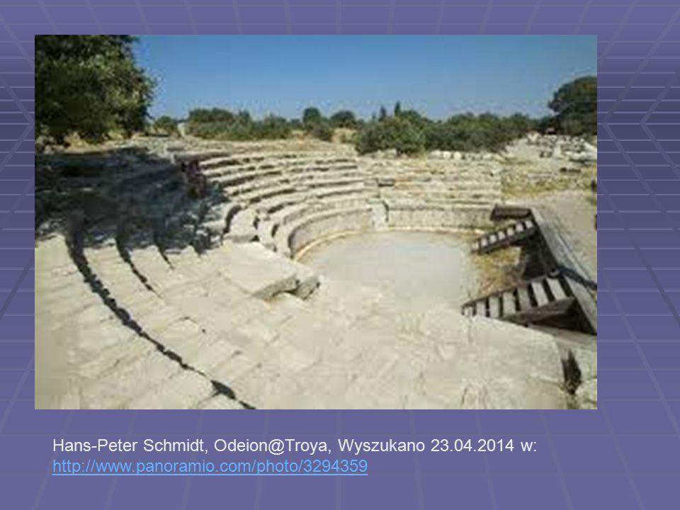 Hans-Peter Schmidt, Odeion@Troya, Wyszukano 23.04.2014 w: http://www.panoramio.com/photo/3294359 http://www.panoramio.com/photo/3294359