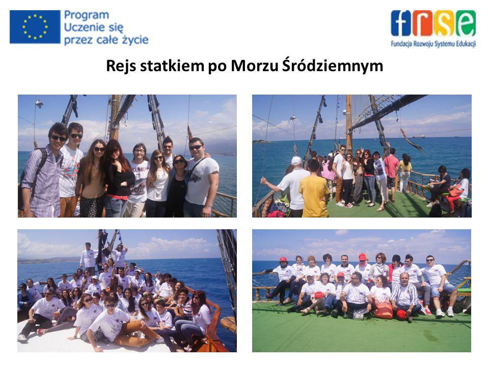 Rejs statkiem po Morzu Śródziemnym