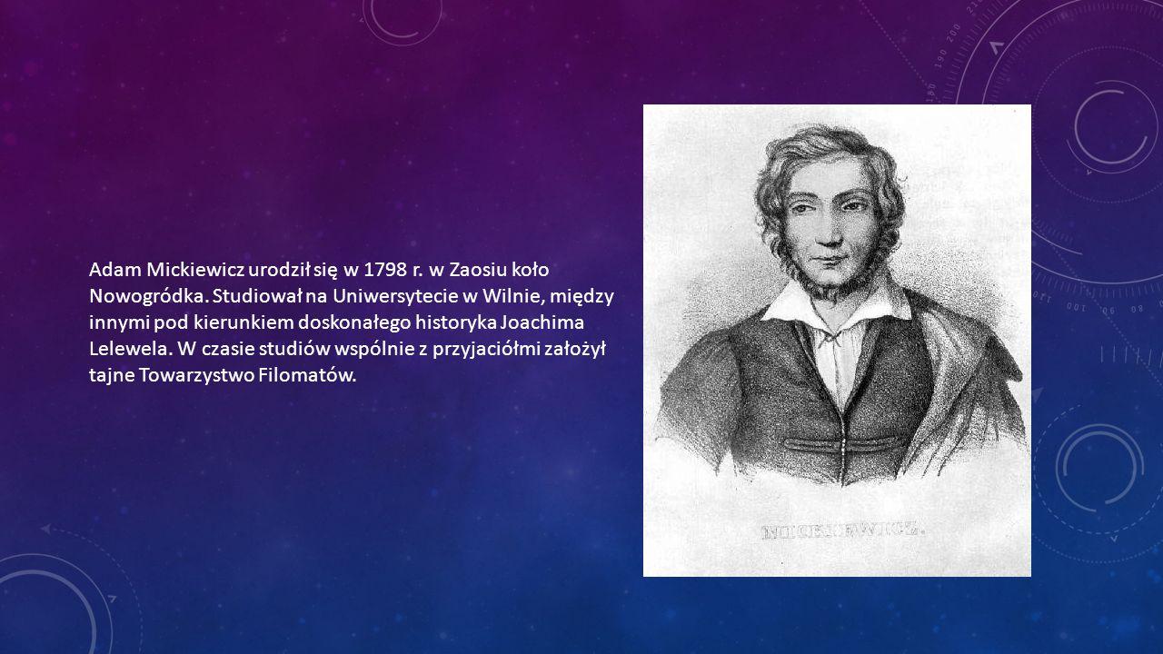 Po ukończeniu studiów poeta pracował w szkole powiatowej w Kownie.