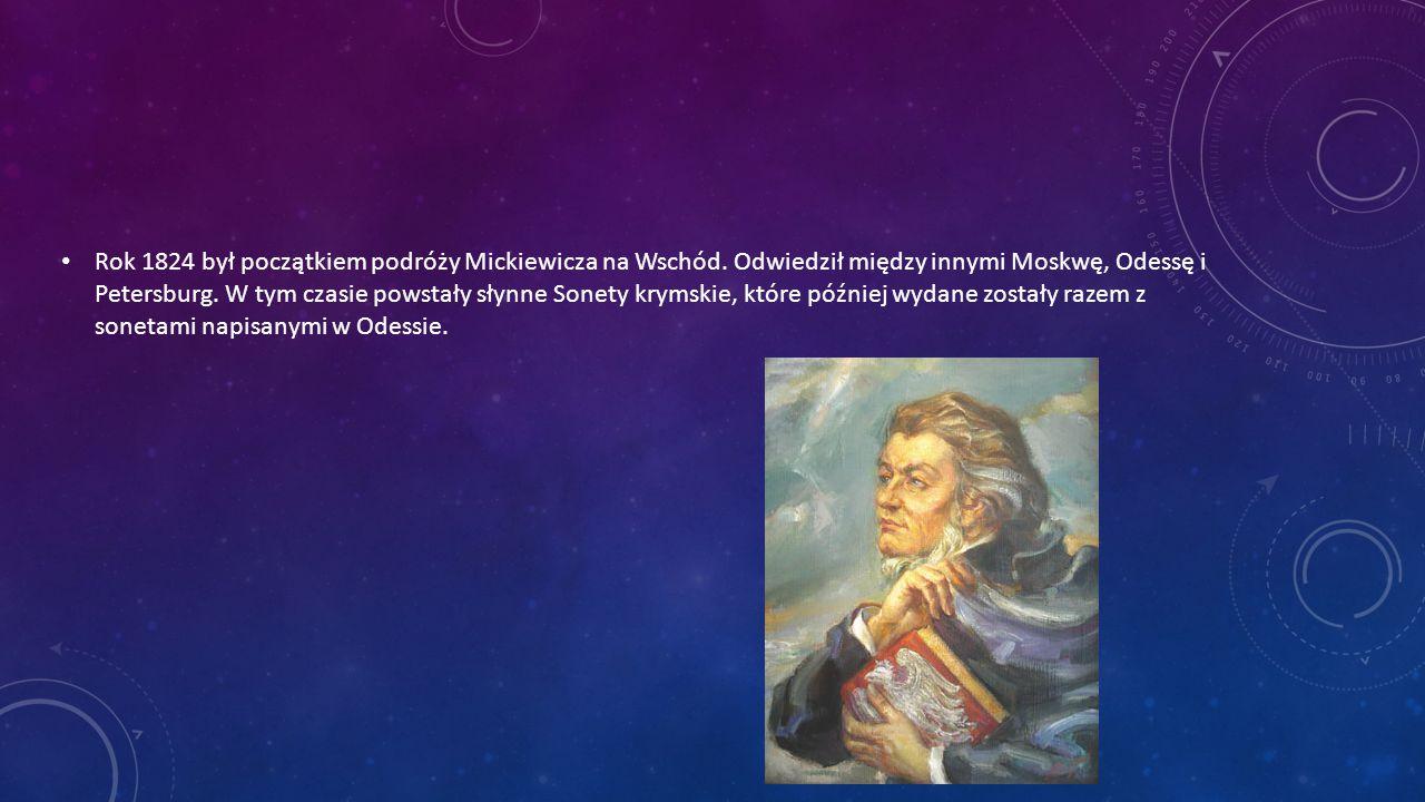 Powieść poetycka Adama Mickiewicza, zatytułowana Konrad Wallenrod powstała w roku 1828.