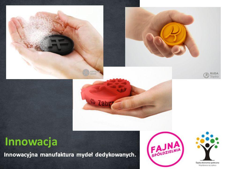 Innowacyjna manufaktura mydeł dedykowanych. Innowacja