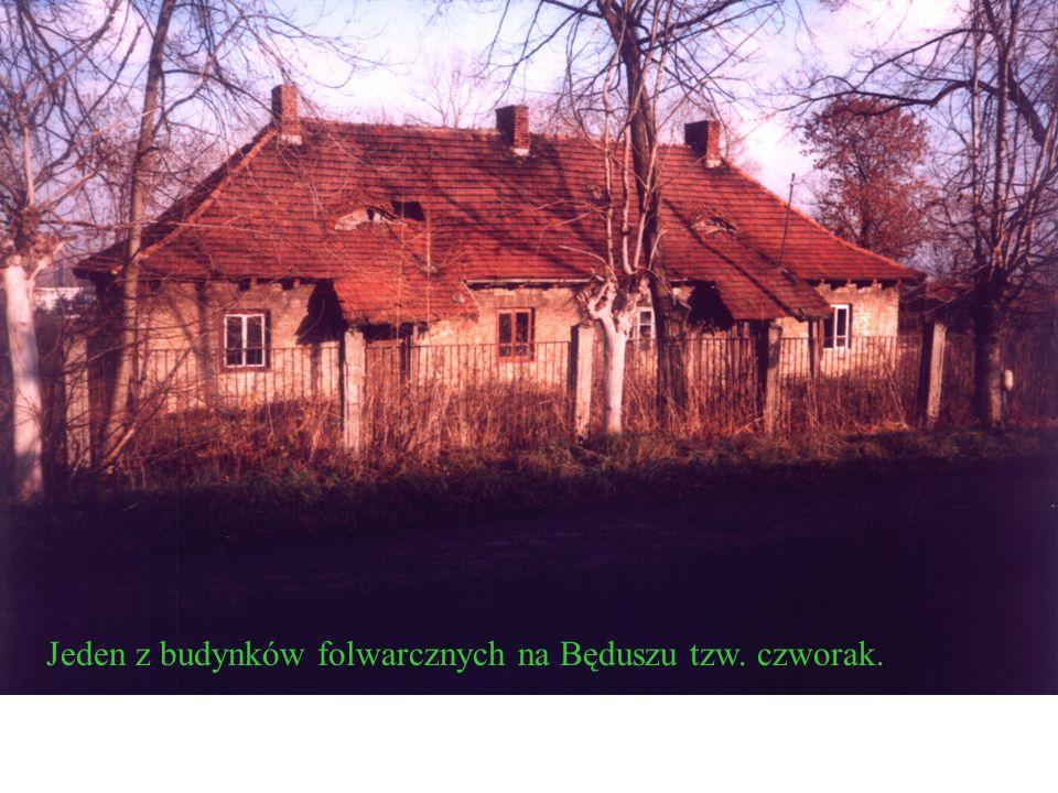 W Będuszu znajduje się zespół folwarczny z początku XX w.