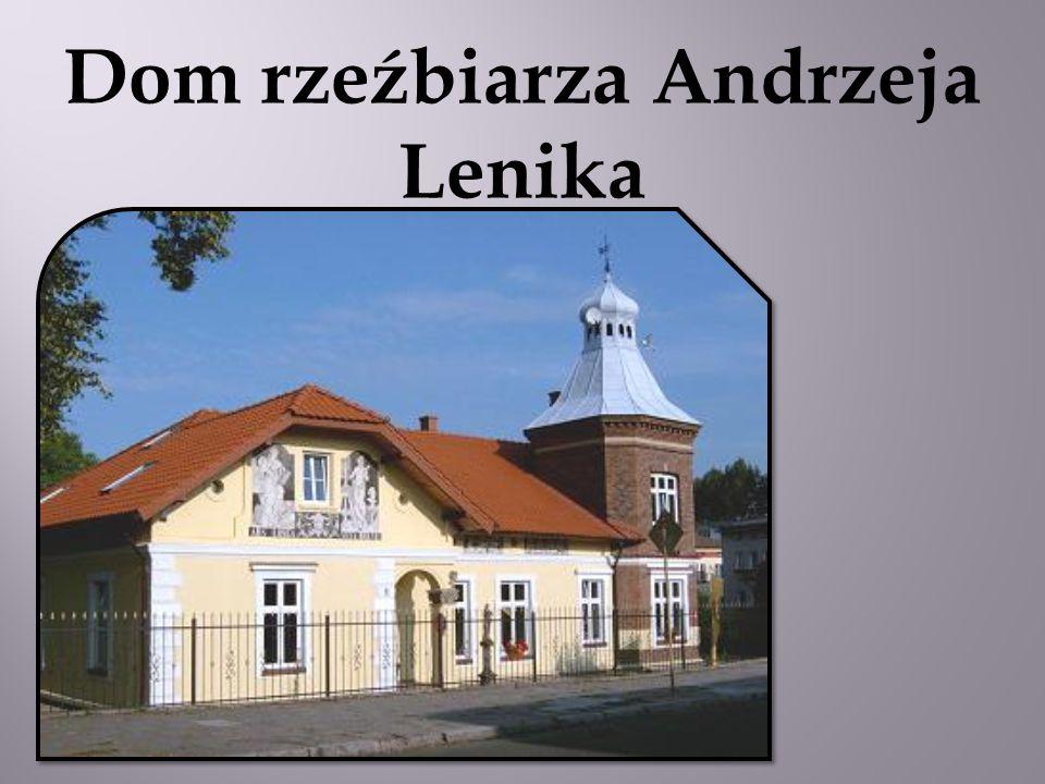 Dom rzeźbiarza Andrzeja Lenika
