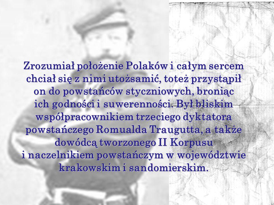 Józef Hauke-Bosak w 1855 roku został oficerem ordynansowym cara Aleksandra II.