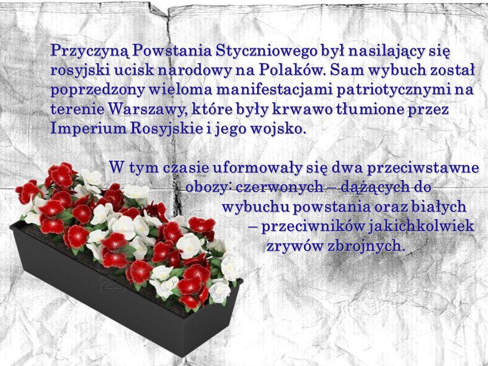 Powstanie Styczniowe 1863 – 1864 to zbrojne wystąpienie przeciwko Rosji, największe polskie powstanie narodowe.