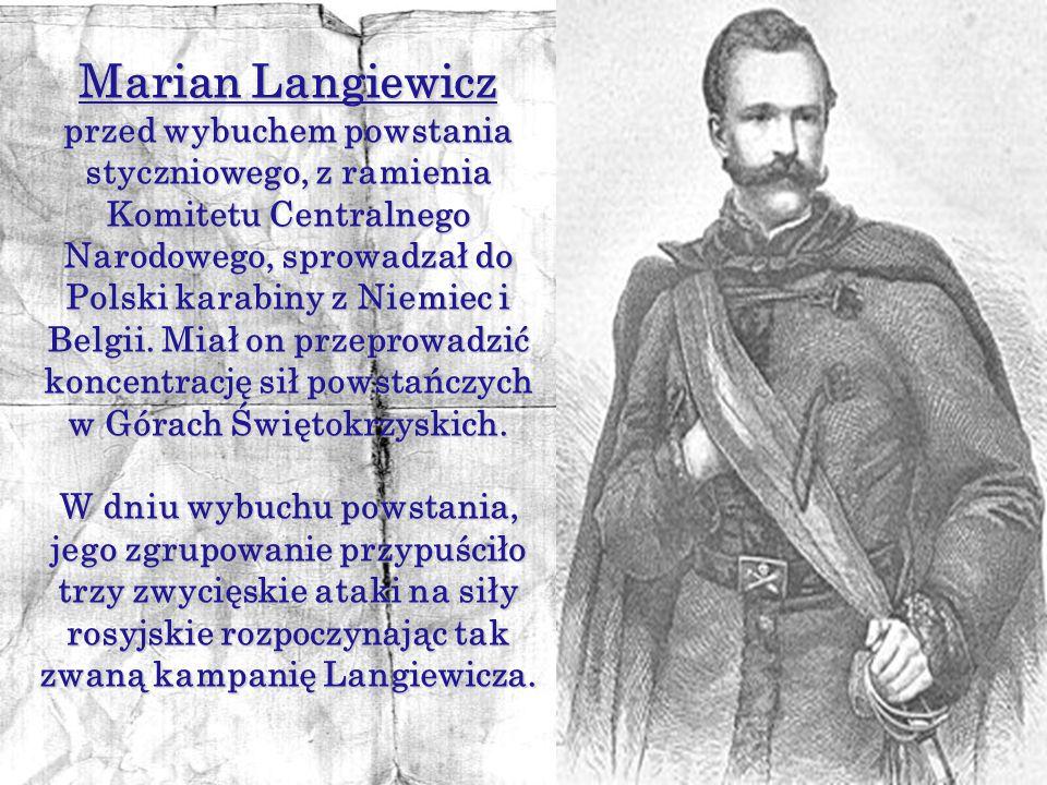 Wojsko polskie liczyło w lecie 1863 r. około 30 tysięcy żołnierzy, uzbrojonych bardzo różnie: od kos po nowoczesne karabiny przemycane z zachodniej Eu