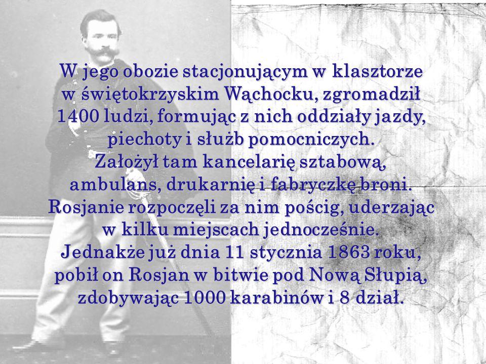 Marian Langiewicz przed wybuchem powstania styczniowego, z ramienia Komitetu Centralnego Narodowego, sprowadzał do Polski karabiny z Niemiec i Belgii.