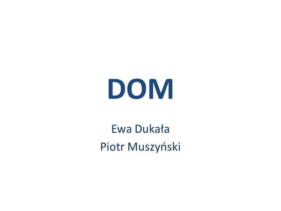DOM Ewa Dukała Piotr Muszyński