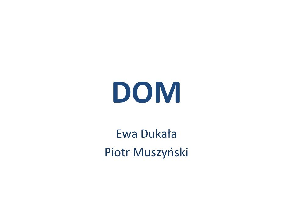 DOM DocumentBuilder Factory Document Builder XML Data object obiectobject DocumentDOM