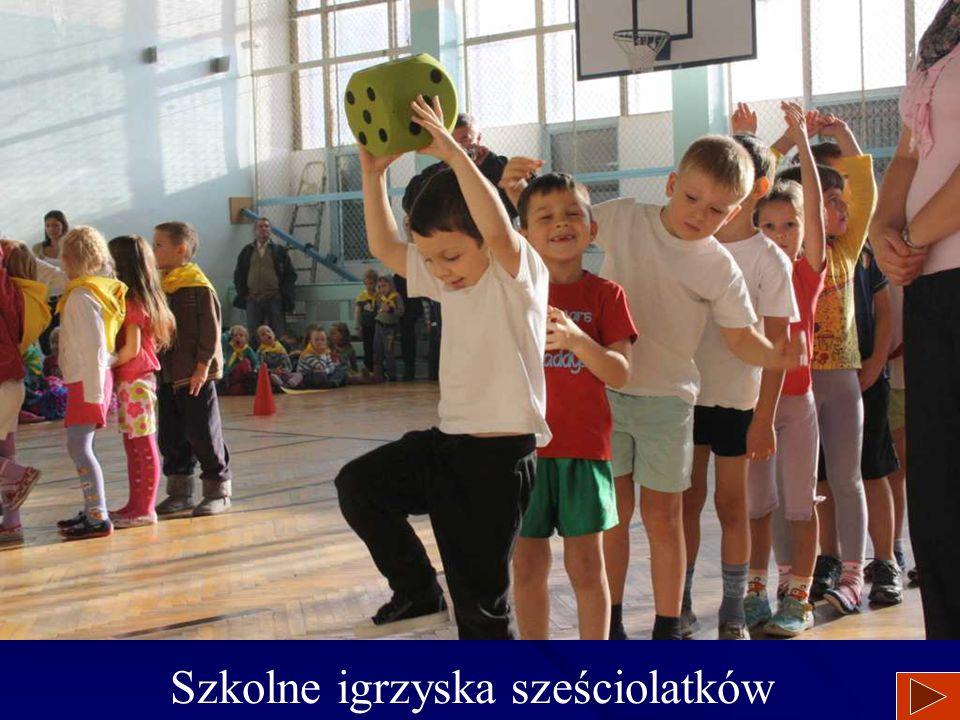 Szkolne igrzyska sześciolatków