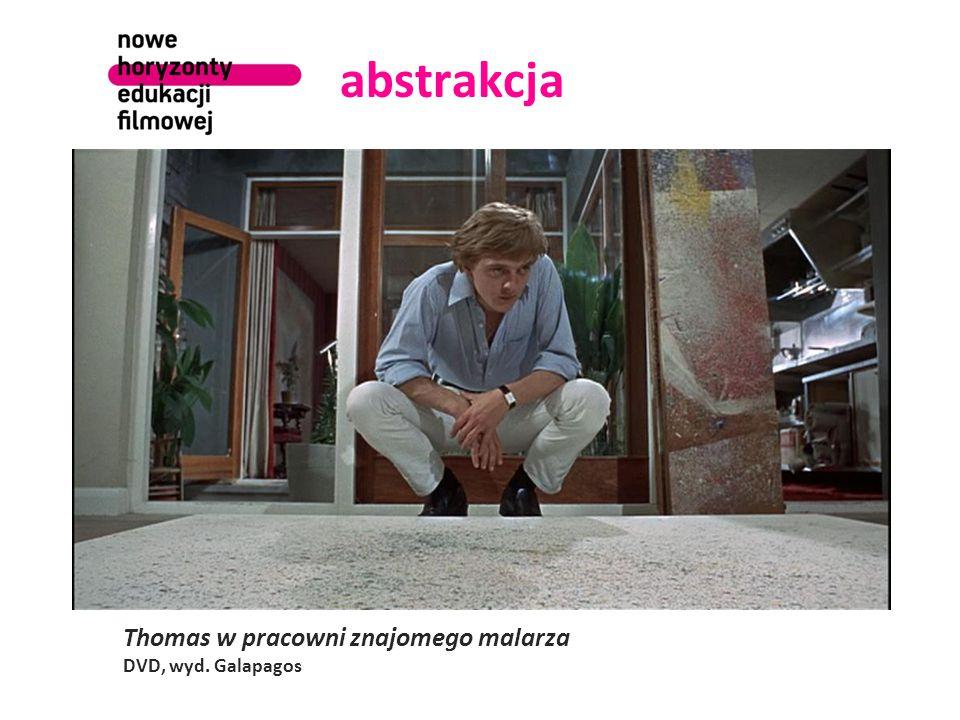 abstrakcja Thomas w pracowni znajomego malarza DVD, wyd. Galapagos