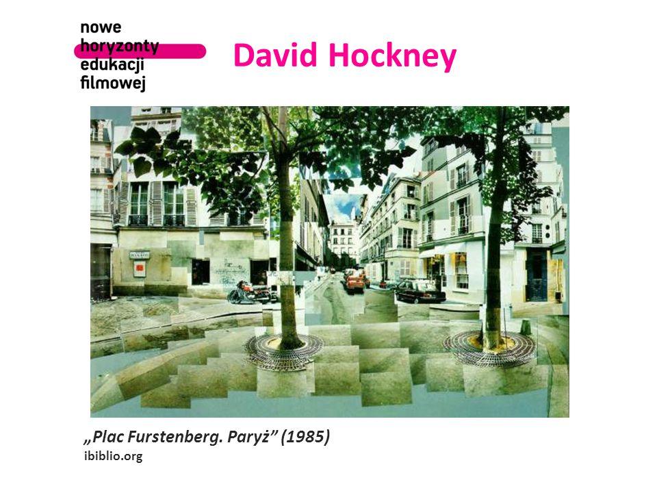 "David Hockney ""Plac Furstenberg. Paryż (1985) ibiblio.org"