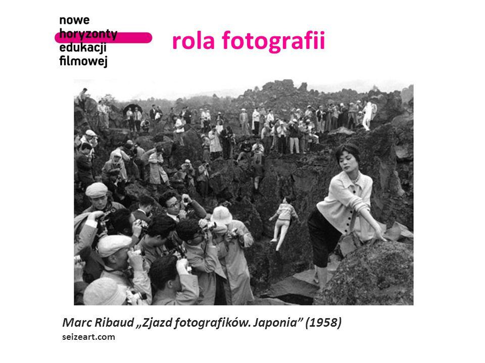 """rola fotografii Marc Ribaud """"Zjazd fotografików. Japonia (1958) seizeart.com"""