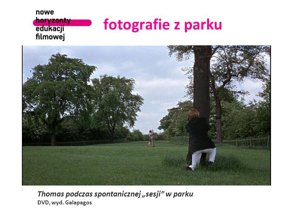 """fotografie z parku Thomas podczas spontanicznej """"sesji w parku DVD, wyd. Galapagos"""