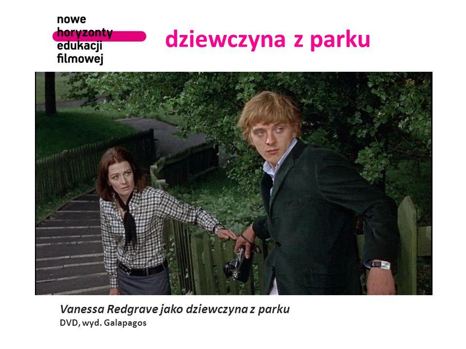 dziewczyna z parku Vanessa Redgrave jako dziewczyna z parku DVD, wyd. Galapagos