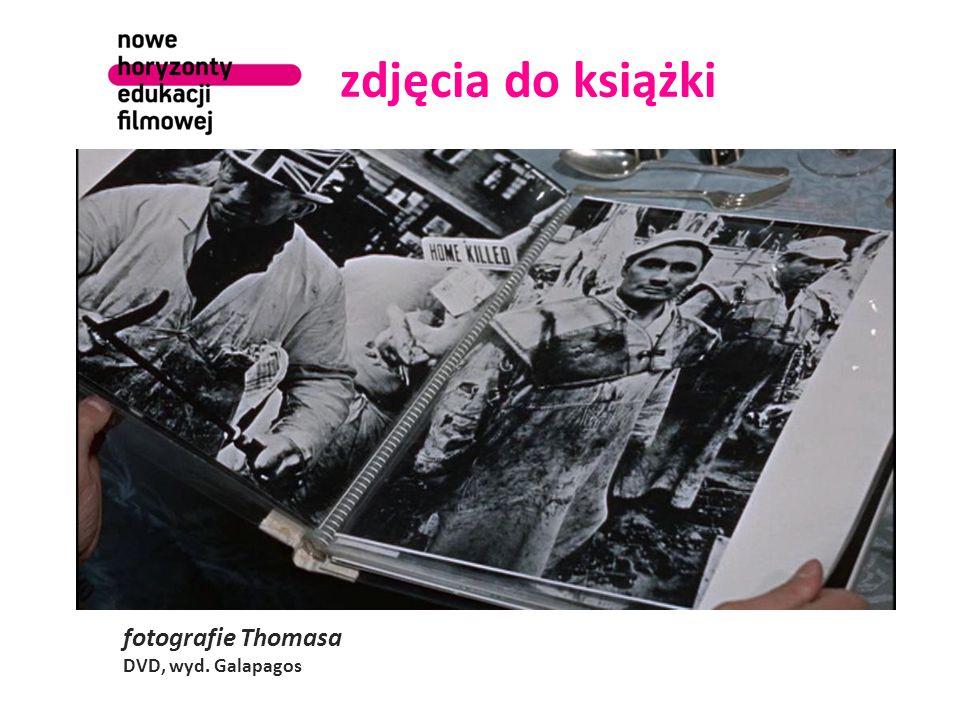 zdjęcia do książki fotografie Thomasa DVD, wyd. Galapagos