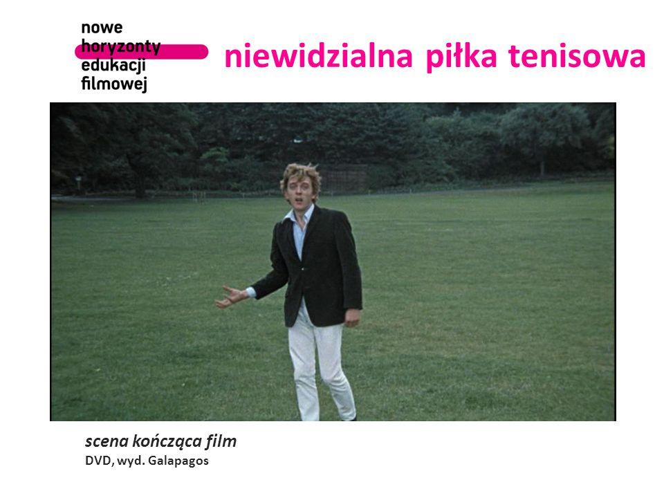 niewidzialna piłka tenisowa scena kończąca film DVD, wyd. Galapagos