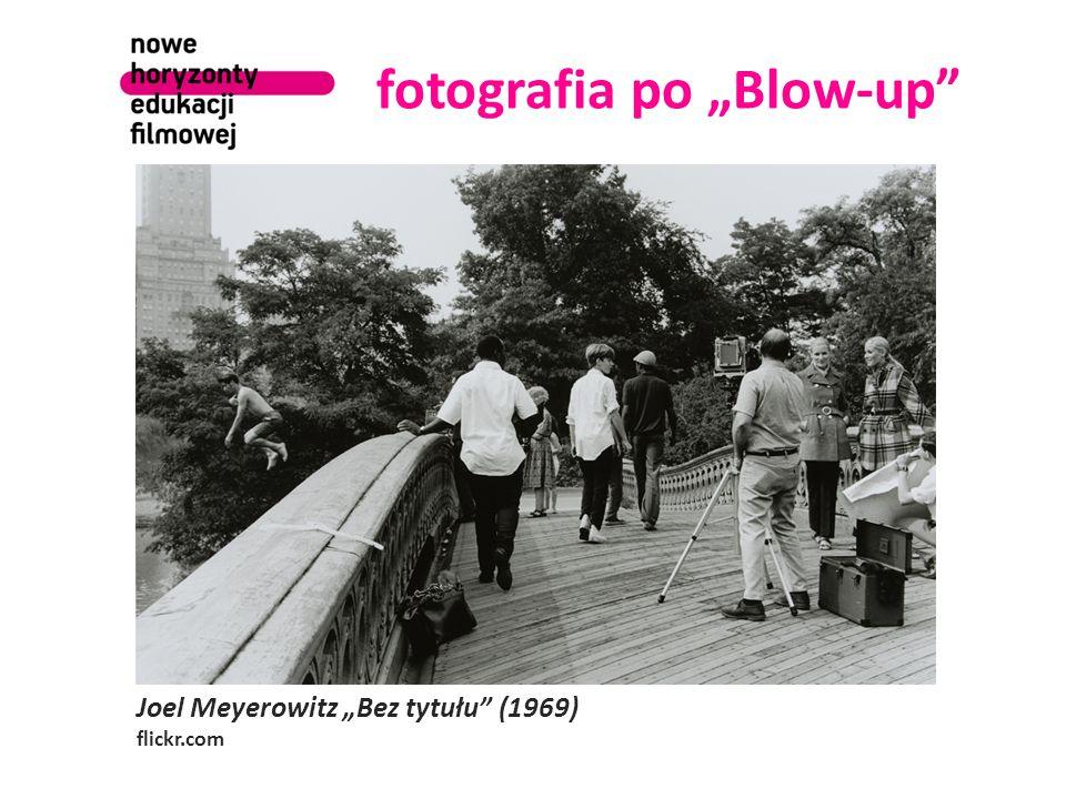 "Joel Meyerowitz ""Bez tytułu (1969) flickr.com fotografia po ""Blow-up"