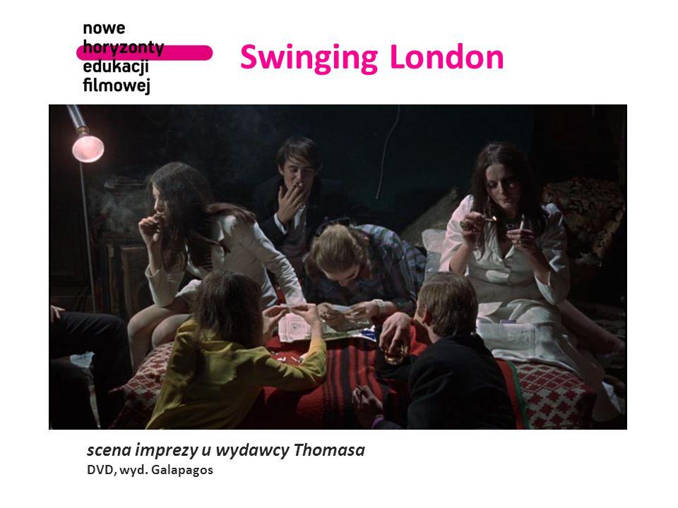 Swinging London scena imprezy u wydawcy Thomasa DVD, wyd. Galapagos