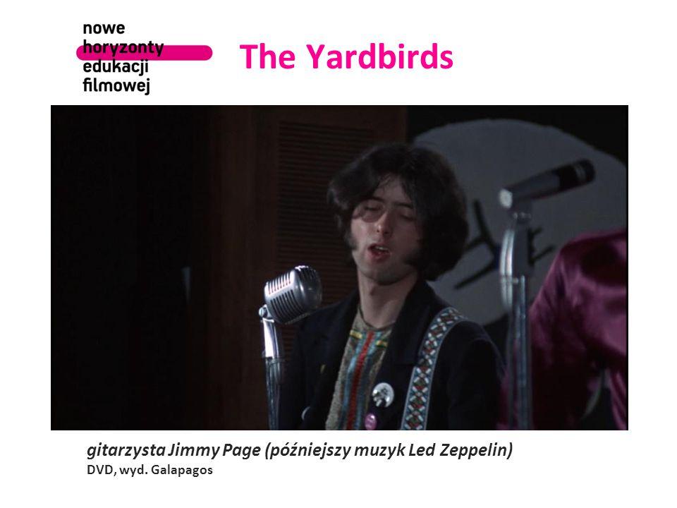 The Yardbirds gitarzysta Jimmy Page (późniejszy muzyk Led Zeppelin) DVD, wyd. Galapagos