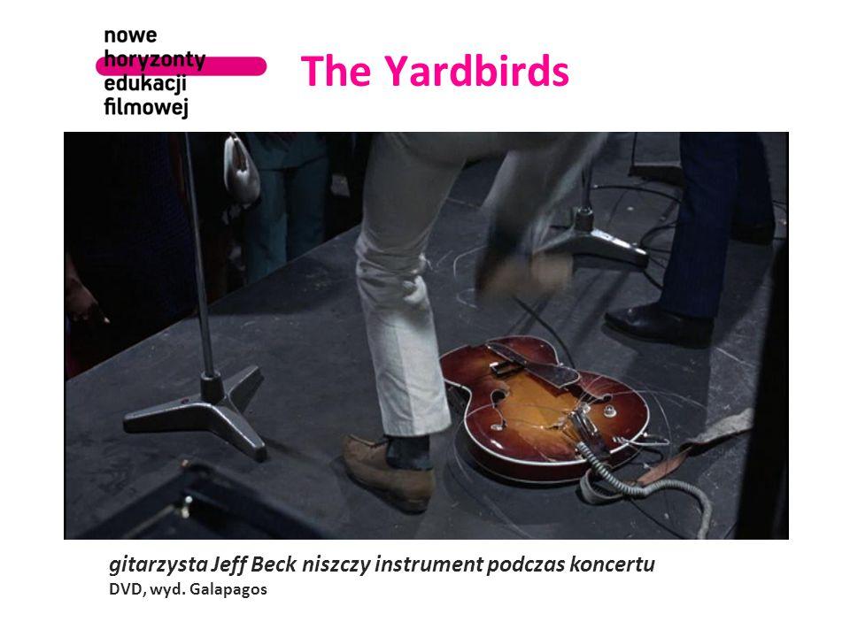 The Yardbirds gitarzysta Jeff Beck niszczy instrument podczas koncertu DVD, wyd. Galapagos